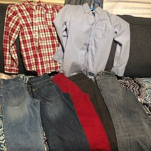 Lot of Levi gap mixed Jean shirts